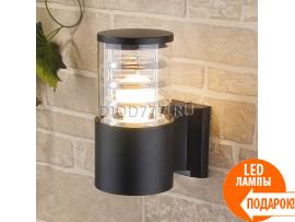 Настенный уличный светильник Techno 1408 черный