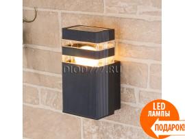 Настенный уличный светильник Techno 1450 черный