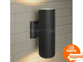 Настенный уличный светильник Techno 1403 черный