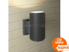 Настенный уличный светильник Techno 1404 черный