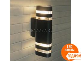 Настенный уличный светильник Techno 1483 черный