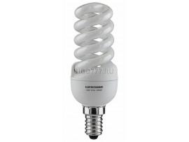 Энергосберегающая лампа Мини-спираль E14 15 Вт 6500K
