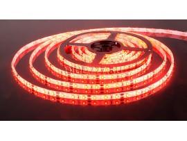 Светодиодная лента 3528/60 LED 4.8W IP65 [белая подложка] красный свет