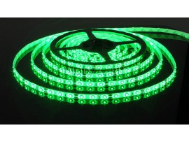 Светодиодная лента 3528/60 LED 4.8W IP65 [белая подложка] зеленый свет