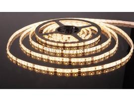 Светодиодная лента 3528/60 LED 4.8W IP65 [белая подложка] теплый белый свет