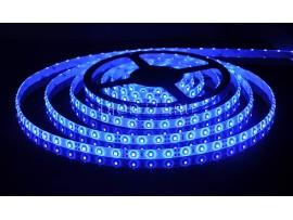 Светодиодная лента 3528/60 LED 4.8W IP65 [белая подложка] синий свет