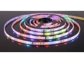 Светодиодная лента 5050/30 LED 7.2W IP65 [белая подложка] мультиколор