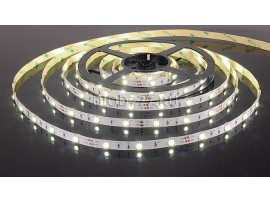 Светодиодная лента 5050/30 LED 7.2W IP20 [белая подложка] белый свет