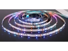 Светодиодная лента 5050/30 LED 7.2W IP20 [белая подложка] мультиколор
