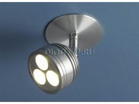 Встраиваемый светодиодный светильник 8803 LED хром (CH)