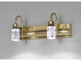 Подсветка для картин и зеркал Glace 822/2 LED золото (GD)