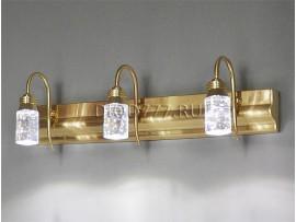 Подсветка для картин и зеркал Glace 822/3 LED золото (GD)