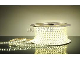 Светодиодная лента 5050/60 LED 13.2W 220V IP65 белый свет