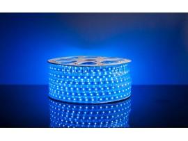Светодиодная лента 5050/60 LED 13.2W 220V IP65 синий свет