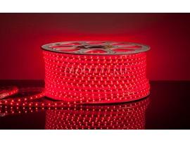 Светодиодная лента 3528/60 LED 4.4W 220V IP65 красный свет