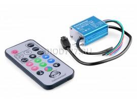 Контроллер для светодиодной ленты RGB с ПДУ RC-DC12V-12A