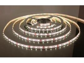 Светодиодная лента 3528/60 LED 4.8W IP20 [белая подложка] теплый белый свет