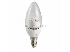 Лампа светодиодная Свеча CR 14SMD 4W 3300K E14