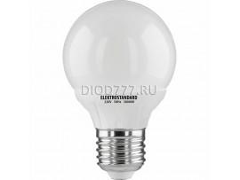 Лампа светодиодная Classic SMD 6W 6500K E27