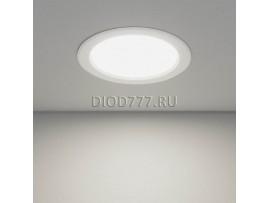 Встраиваемый потолочный светодиодный светильник DLS173 15W 6500K белый (WH)