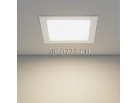 Встраиваемый потолочный светодиодный светильник DLSS170 18W 4200K теплый белый