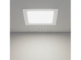 Встраиваемый потолочный светодиодный светильник DLSS170 18W 6500K белый