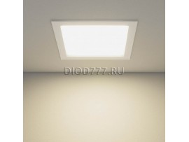 Встраиваемый потолочный светодиодный светильник DLSS220 24W 4200K теплый белый