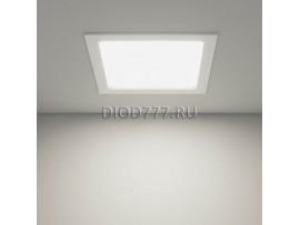 Встраиваемый потолочный светодиодный светильник DLSS220 24W 6500K белый
