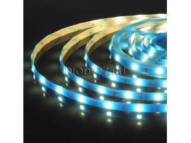 Светодиодная лента 5050/30 LED 7,2 W IP65 синий свет
