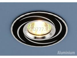 Алюминиевый точечный светильник 2002 BK (черный)