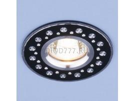 Алюминиевый точечный светильник 2008 MR16 BK черный