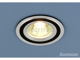 Алюминиевый точечный светильник 5305 хром/черный