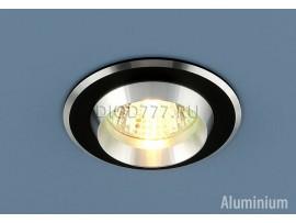 Алюминиевый точечный светильник 5910 черный/хром