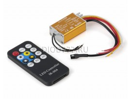 Контроллер для монохромной светодиодной ленты с ПДУ DM-4A0W