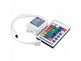 Контроллер для светодиодной ленты RGB с ПДУ LSC 001 DC12V- 06A IP42