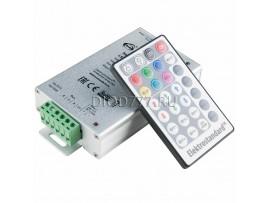 Контроллер для светодиодной ленты RGB с ПДУ LSC 008 DC12V-12A IP42
