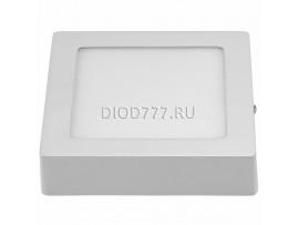 Накладной потолочный светодиодный светильник DLS002 12W 4200K белый WH