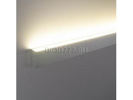 Профильный светодиодный светильник ССП накладной односторонний 18W 1300Lm 120см