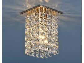 Светильник точечный с хрусталем 207 GD/CLEAR (золото/прозрачный)