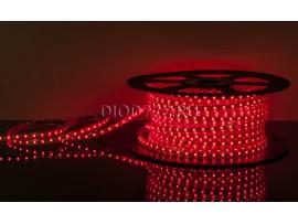 Светодиодная лента LSTR001 220V 4,4W IP65 красный