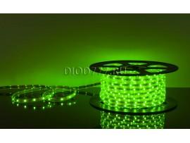 Светодиодная лента LSTR002 220V 7,2W IP65 зеленый