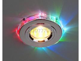 Светодиодный точечный светильник 2020/2 SL/7-LED (хром / мультиколор)