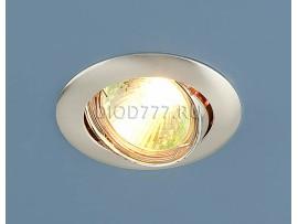 Точечный светильник 104S SS (сатинированное серебро)
