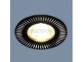 Точечный светильник 2003 MR16 BK/SL черный/серебро