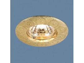 Точечный светильник 603 MR16 SG сатин золото