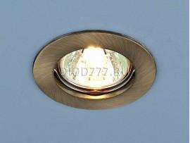 Точечный светильник 863A SB (бронза)