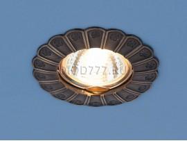 Точечный светильник для подвесных, натяжных и реечных потолков 7201 бронза (GAB)
