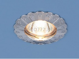 Точечный светильник для подвесных, натяжных и реечных потолков 7201 хром (CH)
