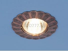 Точечный светильник для подвесных, натяжных и реечных потолков 7201 медь (RAB)