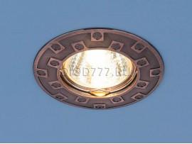 Точечный светильник для подвесных, натяжных и реечных потолков 7202 медь (RAB)